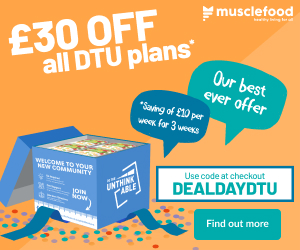 £20 off muscle food